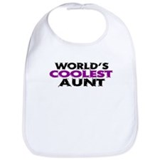 World's Coolest Aunt Bib