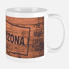 Arizona Map Brand Mugs