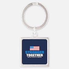 Stronger Together Keychains