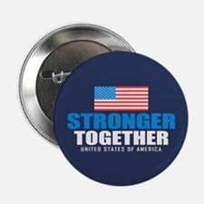 "Stronger Together 2.25"" Button (10 pack)"