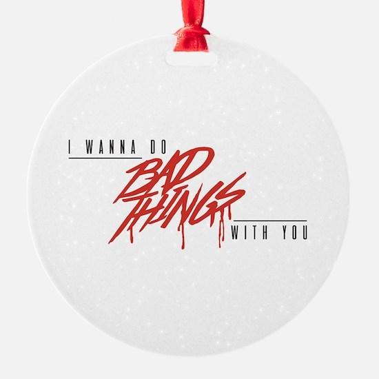 I Bite Ornament