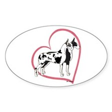 CCMtH Heartline Oval Decal