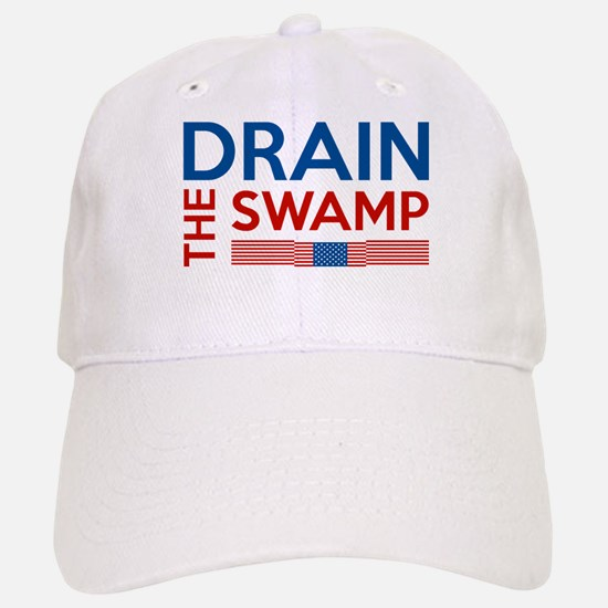 Drain The Swamp Baseball Baseball Cap