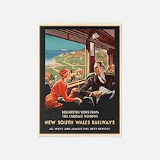 New South Wales Railways, 5'x7'area Rug