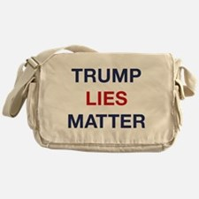 Trump Lies Matter Messenger Bag