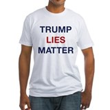 Anti trump Fitted Light T-Shirts