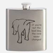 Funny Be the change Flask