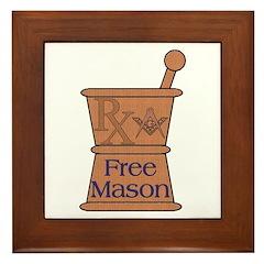 Pharmacist Mason Framed Tile