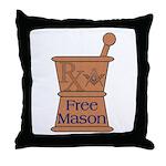 Pharmacist Mason Throw Pillow
