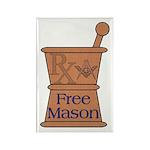 Pharmacist Mason Rectangle Magnet (100 pack)