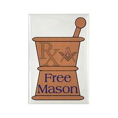 Pharmacist Mason Rectangle Magnet