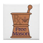 Pharmacist Mason Tile Coaster