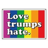 Love trumps hate Banners