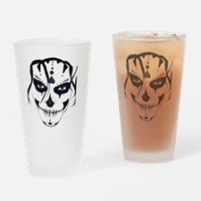 Cool Skull face Drinking Glass