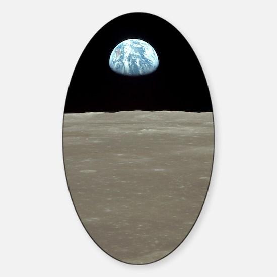 Unique Rise man Sticker (Oval)