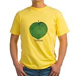 I Love Hostas Yellow T-Shirt