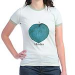 I Love Hostas Jr. Ringer T-Shirt