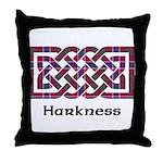 Knot - Harkness Throw Pillow