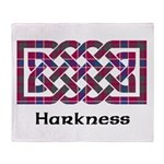 Knot - Harkness Throw Blanket