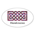 Knot - Harkness Sticker (Oval 50 pk)