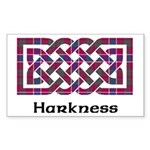 Knot - Harkness Sticker (Rectangle)