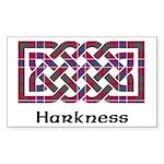 Knot - Harkness Sticker (Rectangle 10 pk)