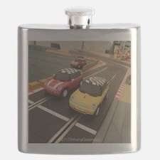 Cute Car racing Flask