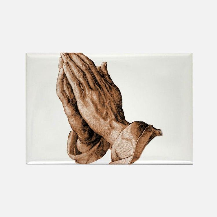 Durer's Praying Hands Magnets