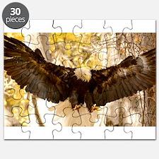 Bald Eagle in Flight Puzzle