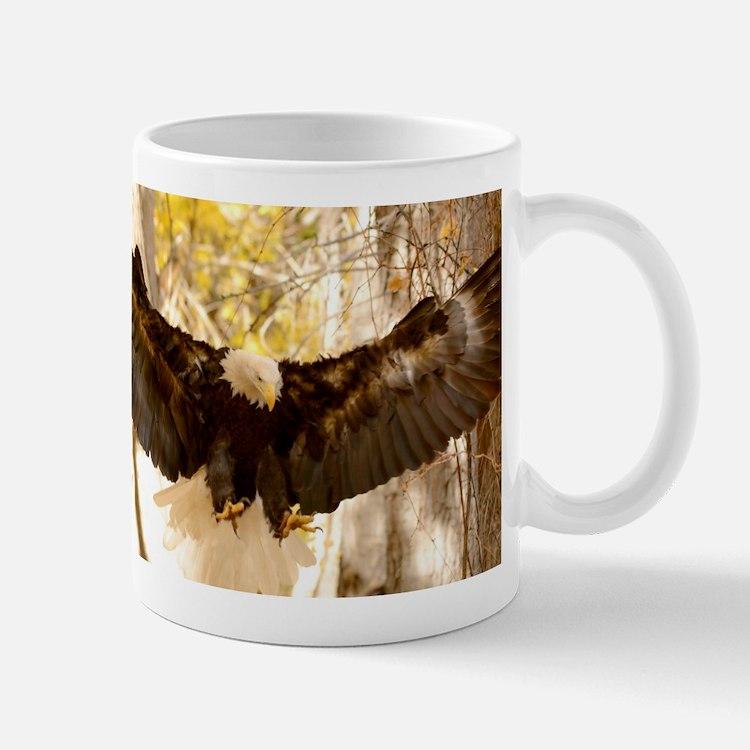 Bald Eagle in Flight Mugs