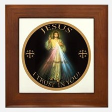Cute Catholic Framed Tile