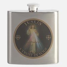 Unique Catholic Flask