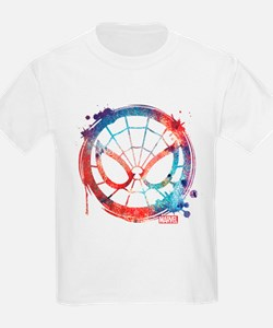 Spider-Man Icon Splatter T-Shirt