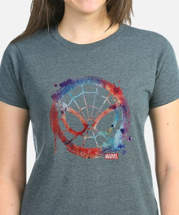 Spider-Man Icon Splatter Tee
