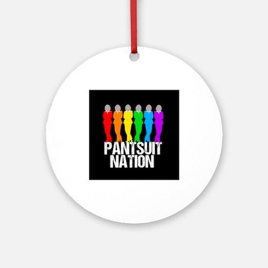 Pantsuit Nation Round Ornament