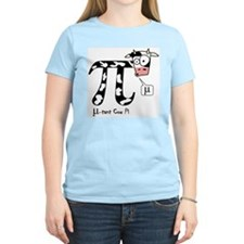 Mu-tant cow pi women's shirt (pastels)