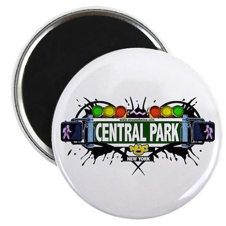 Central Park (White) Magnet