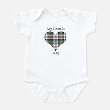 Heart-Hay dress Infant Bodysuit