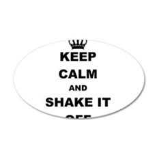 KEEP CALM AND SHAKE IT OFF Wall Decal
