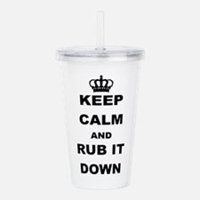 Rub Acrylic Double-wall Tumbler