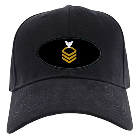Navy Chief Petty Officer <BR>Black Cap