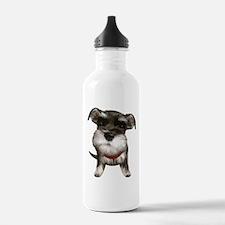 Mini Schnauzer001 Water Bottle