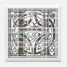 Monogram-Hay dress Tile Coaster