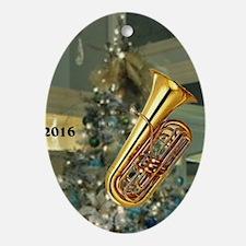 Baritone Oval Ornament