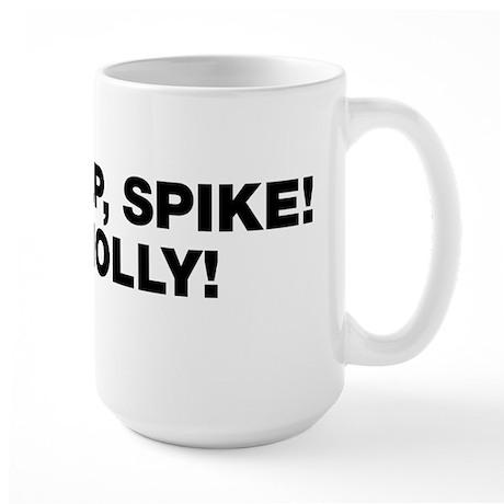 Eek Help Spike Large Mug