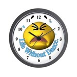 Life Without Dance Wall Clock