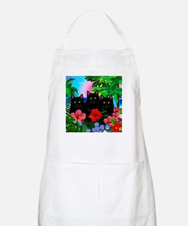beachparadise bl cats.png Apron