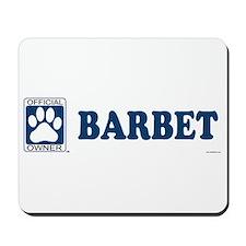 BARBET Mousepad