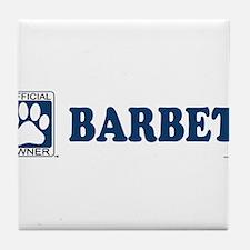 BARBET Tile Coaster