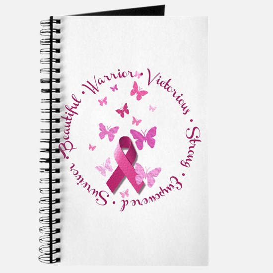 Breast Cancer Pink Ribbon Journal